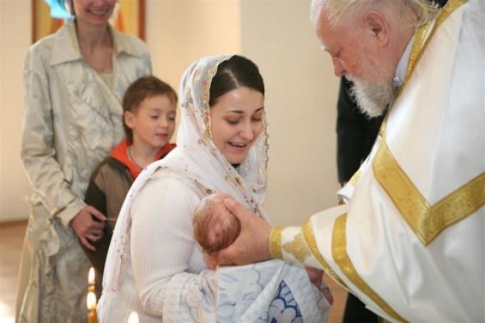 Крещение на пасху