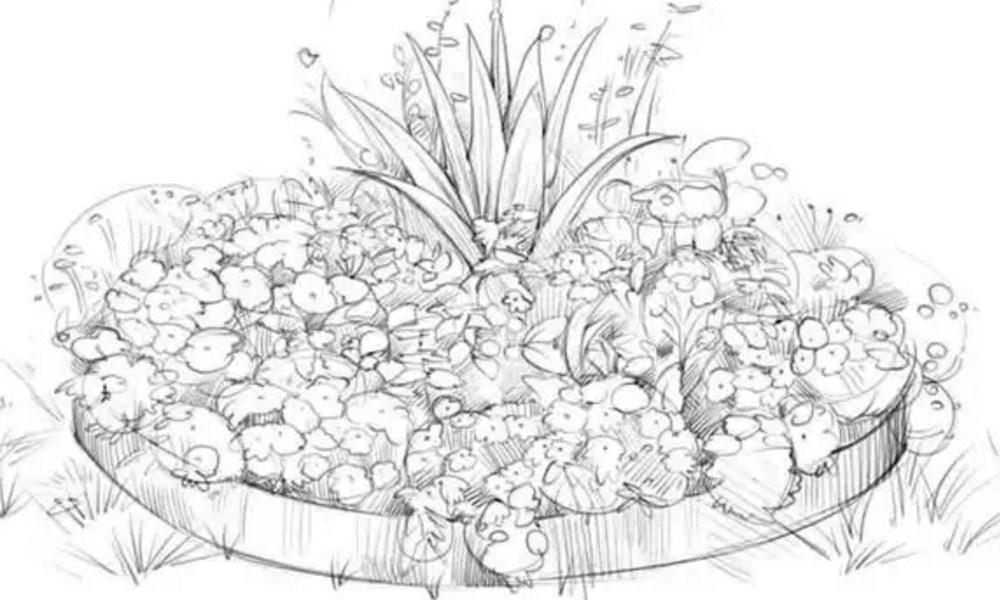 Прорисовывайте цветы и детали
