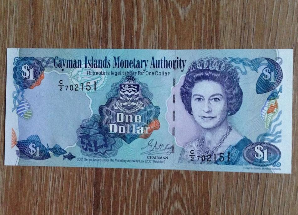 Так выглядит валюта каймановых островов