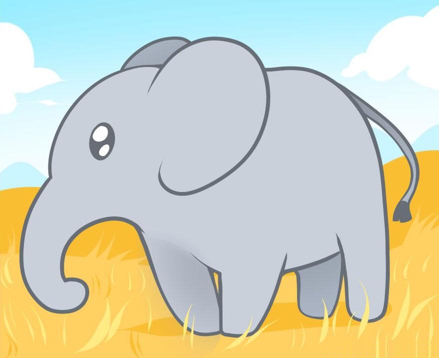 kak-narisovat-slona-karandashom-dlya-detei-i-nachinayushih-shag-za-shagom Как нарисовать слона поэтапно: 5 вариантов как легко и просто нарисовать слона карандашом