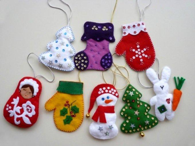 fb8766e1ec4a3dec3fe90b50c51483bd Новогодние елочные игрушки своими руками
