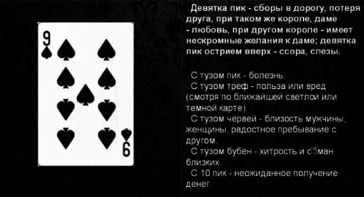 8 пик значение карты в гадании непутевый ученик в школе магии манга гость
