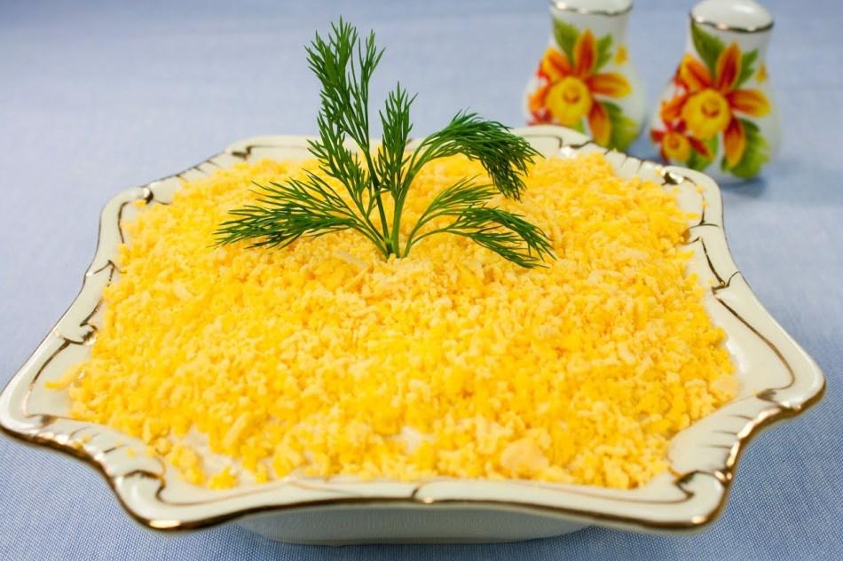 Нежный салат на дюкановской диете
