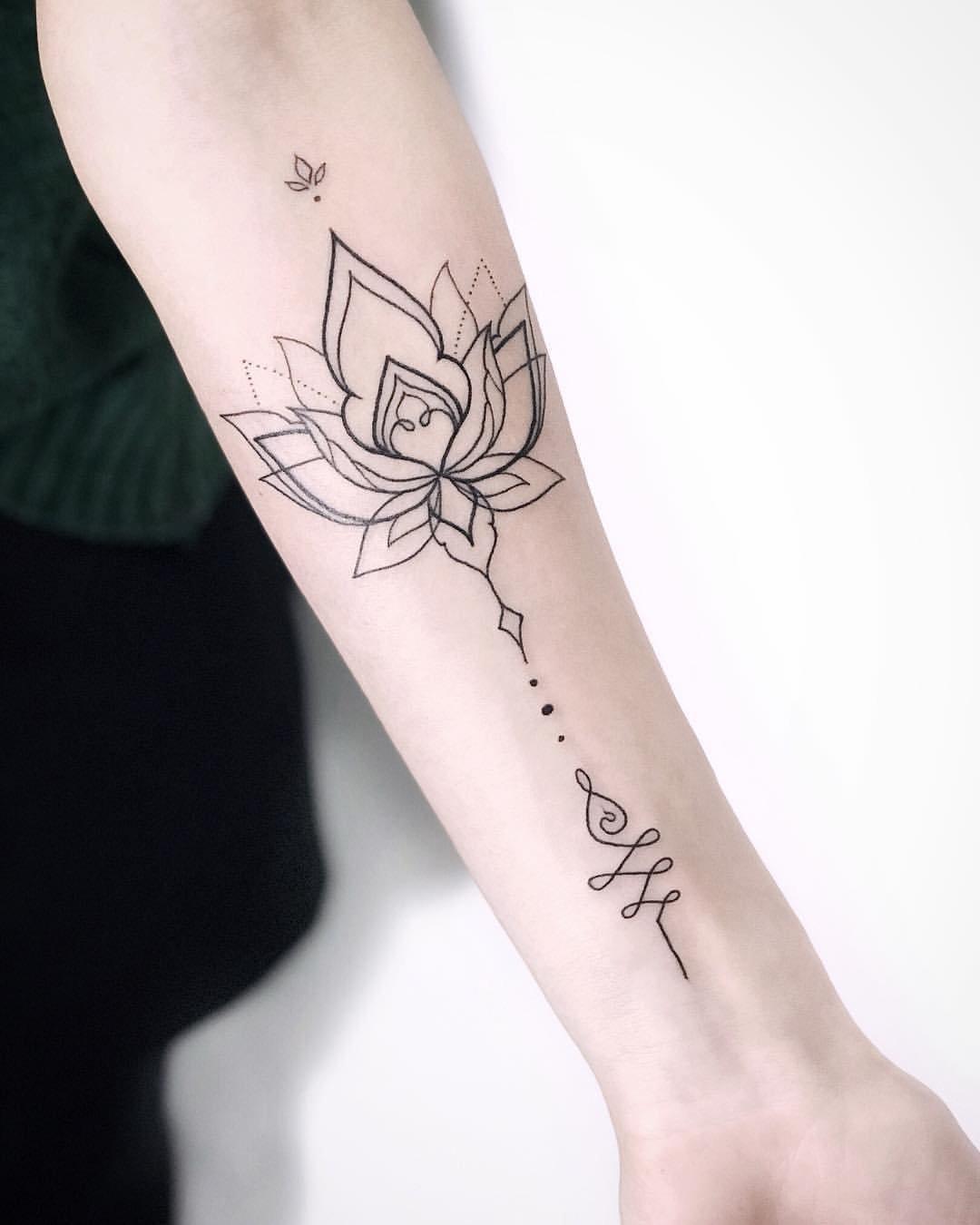 Beautiful эскизы тату для девушек на руке