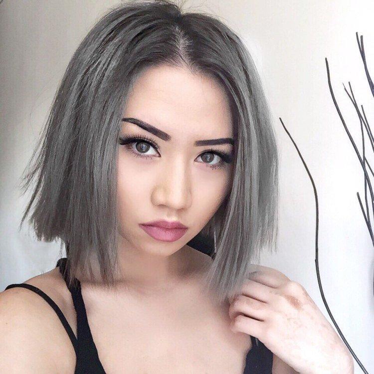 Окрашивание в серый цвет