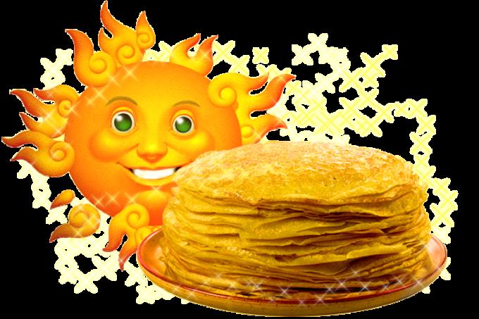 Нельзя представить масленицу без солнца и блинов