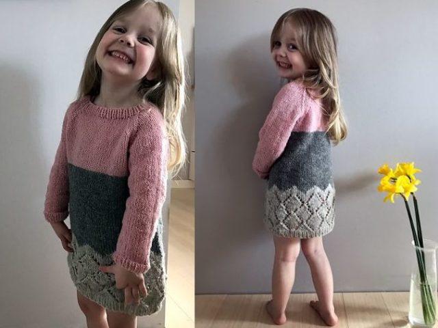 вязание вещей для девочки 1 2 года спицами простые и красивые