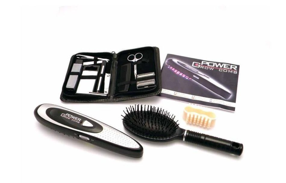 Польза лазерной расчески от выпадения волос