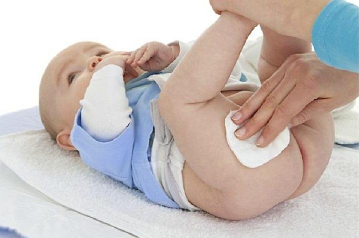 Гигиенические процедуры малыша